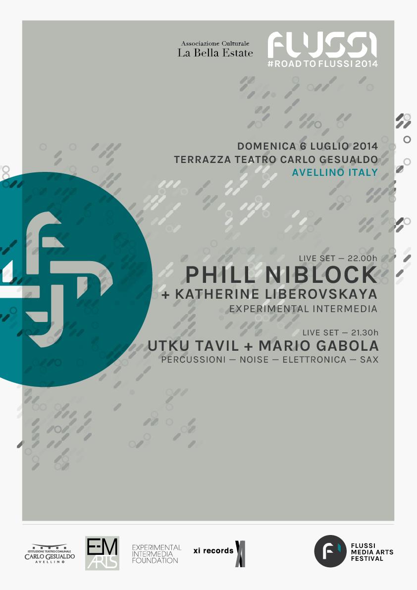 #ROADTOFLUSSI2014_Phil Niblock live-01